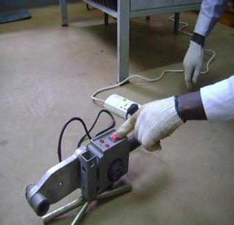 stroj za lemljenje polipropilenskih cijevi