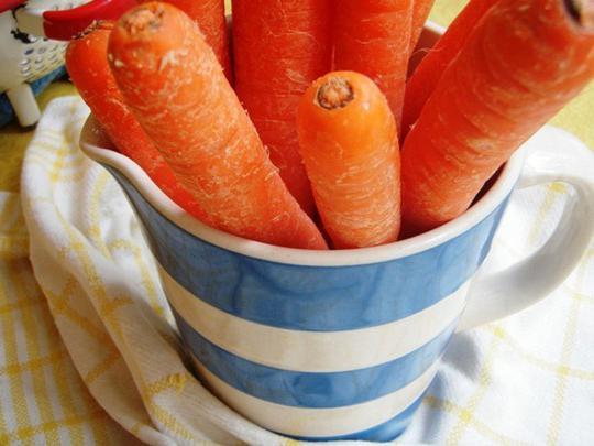 kako pohraniti mrkvu u hladnjak