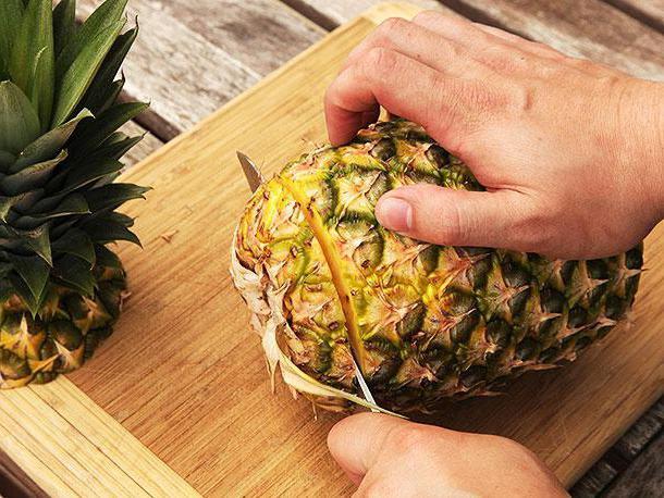 как да съхранявате ананас у дома