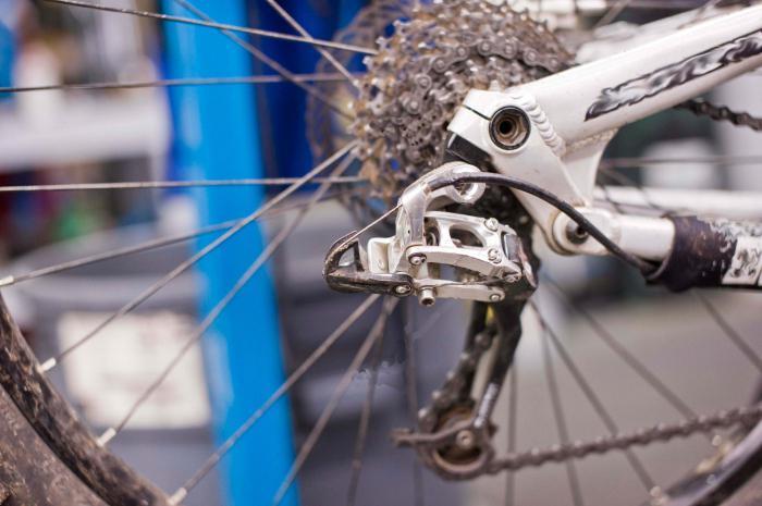 ispravno prebacite brzinu na biciklu