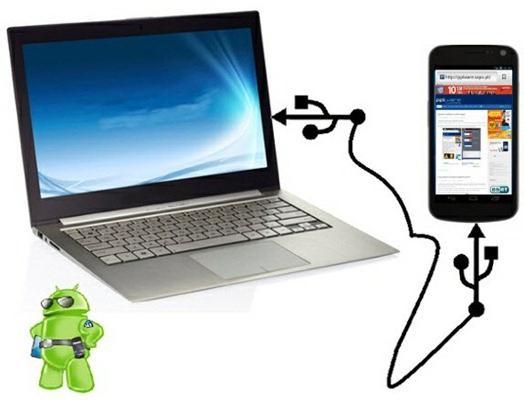 како синхронизовати андроид са компјутером преко усб-а