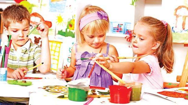 učiti otroka v vrtcu