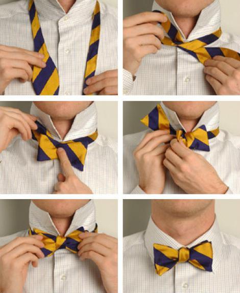 kako vezati lok na obleko