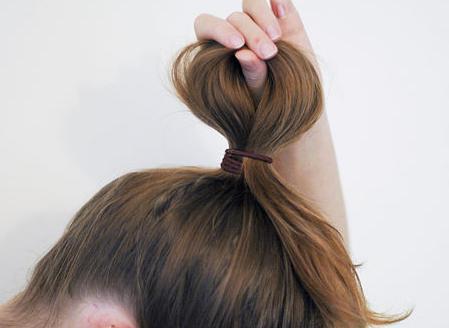 kako vezati lok na lase