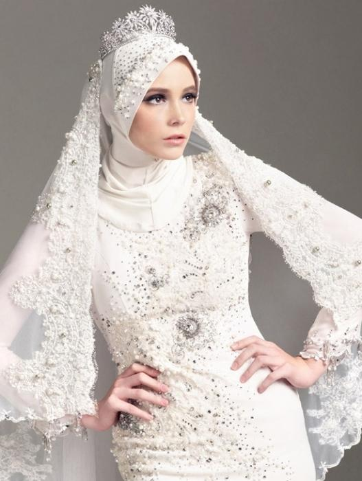 vjenčani hidžab