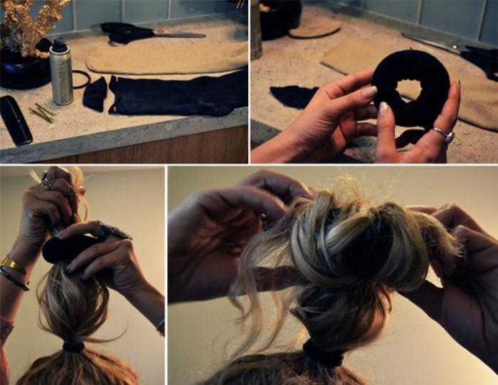 come fare un rullo per capelli