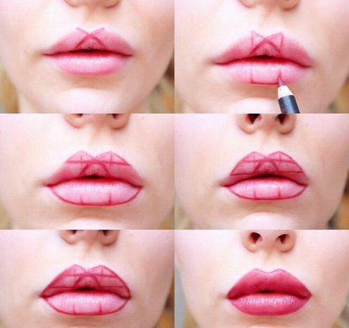 kako vizualno povečati ustnice