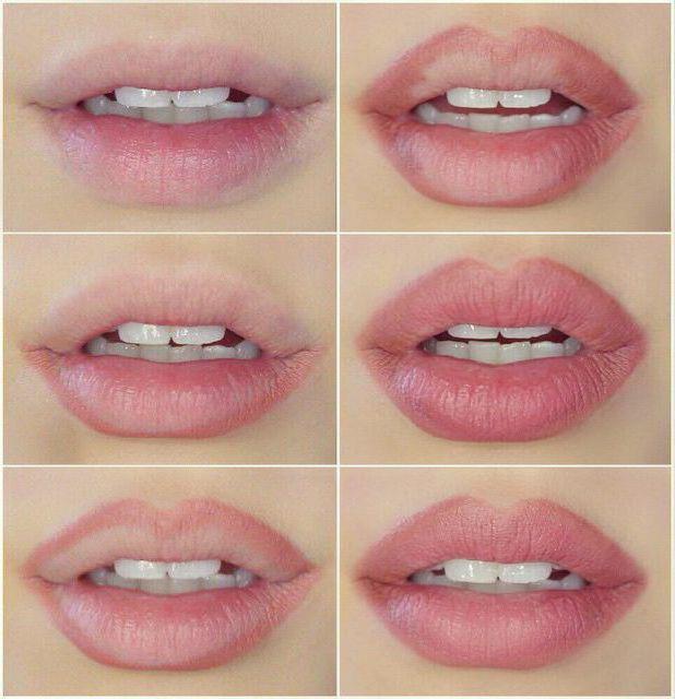 kako povečati ustnice z ličilom