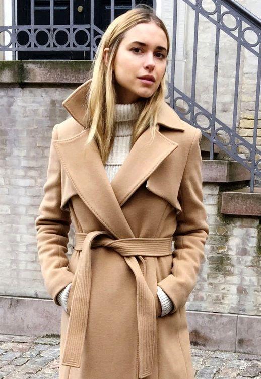 cappotto beige femminile