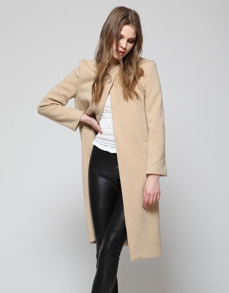 cappotto beige con cosa indossare foto