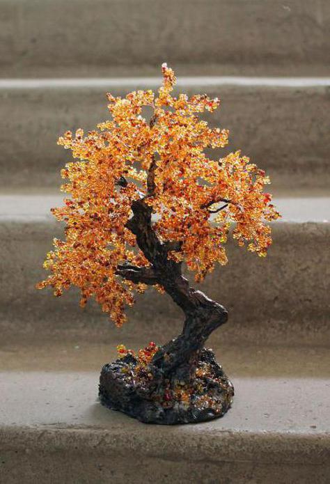 albero di perline d'autunno