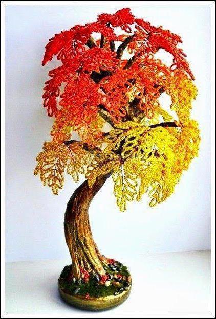 foto di perlina albero d'autunno
