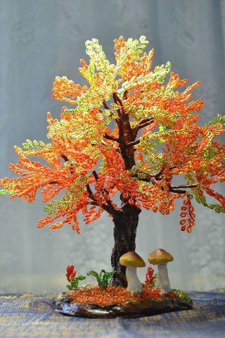 come intrecciare l'albero autunnale
