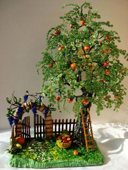 tessitura tallone albero autunnale