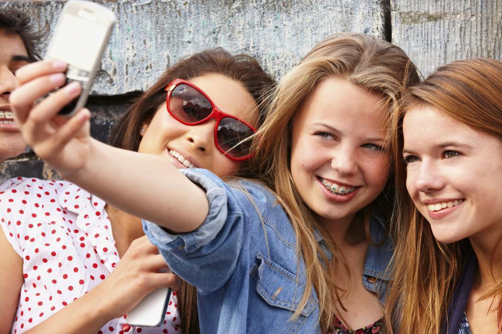 Фотографирани приятели