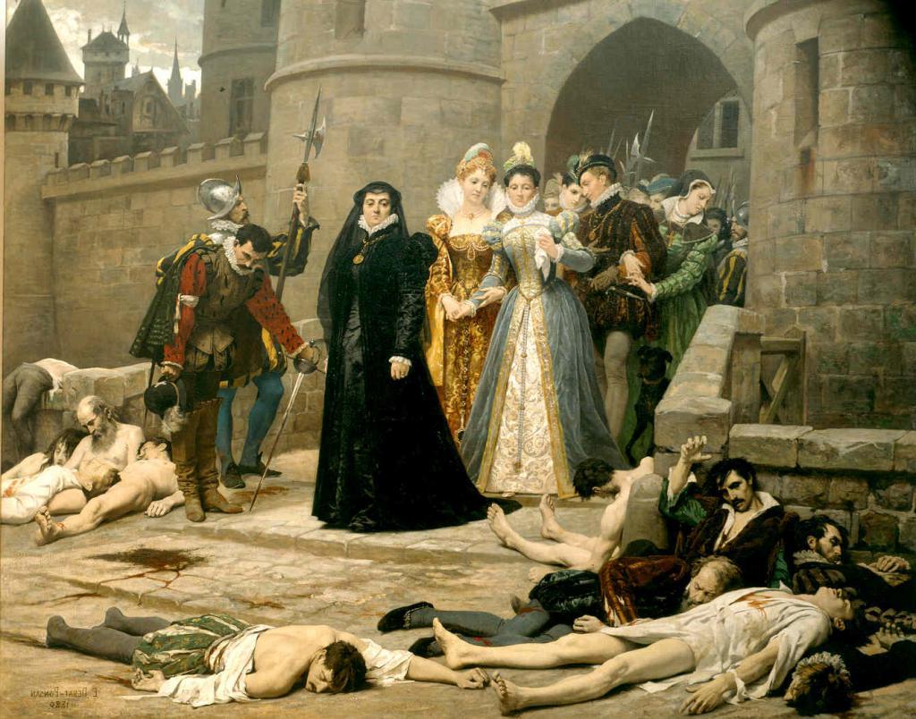 Резултат с изображение за хугенотите.