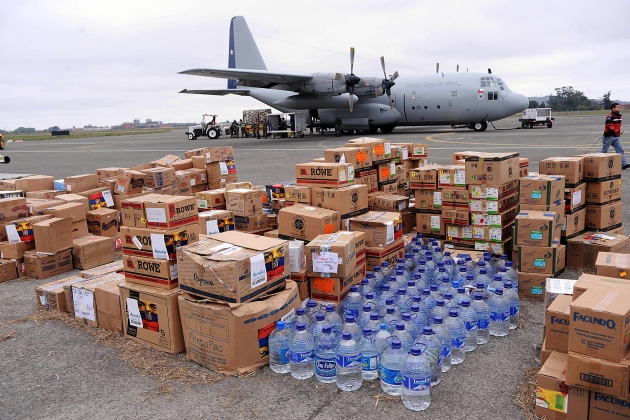 aiuto alimentare umanitario
