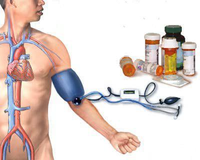 trattamento dell'ipertensione di 2 gradi