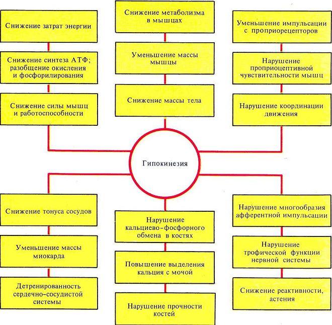 klinička hipokinezija