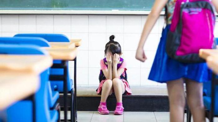 il bambino non vuole andare a scuola