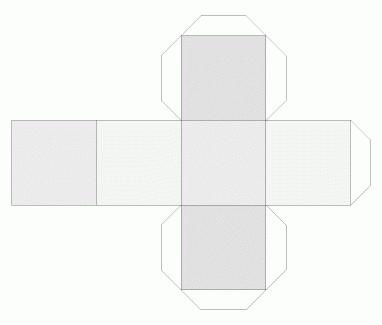 cubo di carta