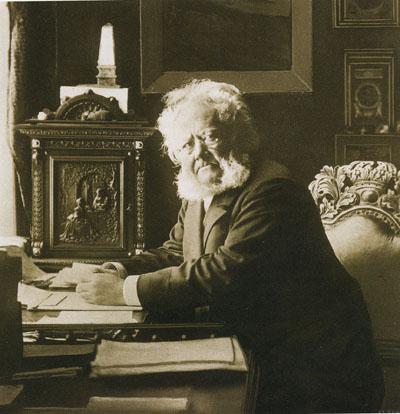 Henrik Ibsen gioca