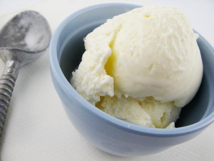 recept za mliječni sladoled