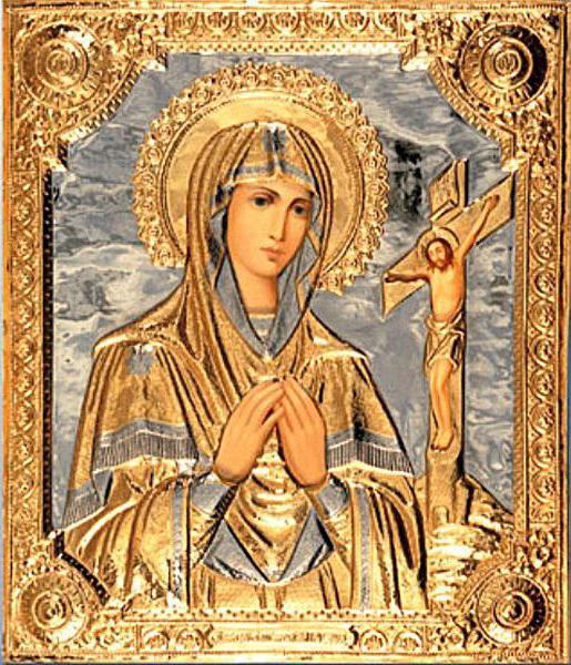 icon Akhtyrskaya bóg Boga