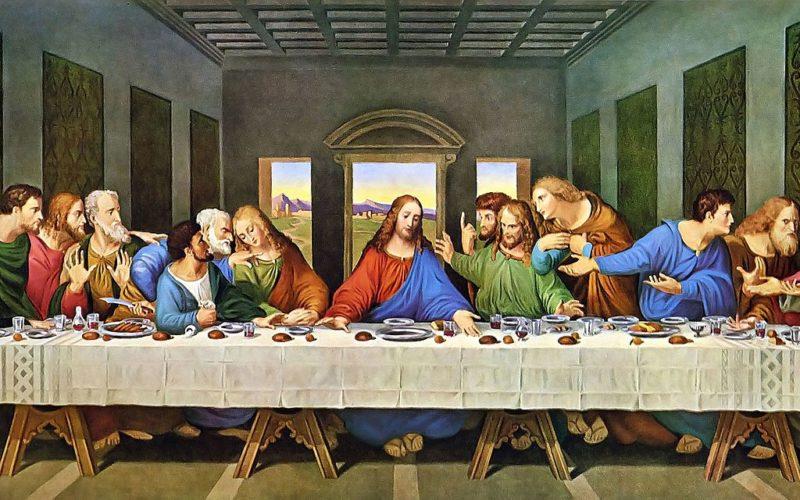 Affresco di Leonardo da Vinci