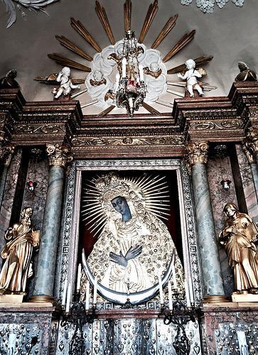 icona ostrobramskaya del valore di madre di Dio