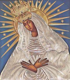 Icona di Ostrobramskaya della Madre di Dio protegge da