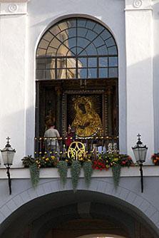 Icona di Ostrobramskaya della madre di Dio dove tenere a casa