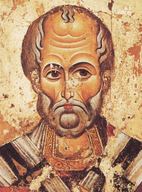 icona di San Nicola il miracolo