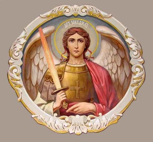 icona dell'arcangelo Michele
