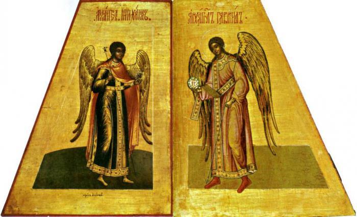 L'Arcangelo Michele e l'icona di Gabriele
