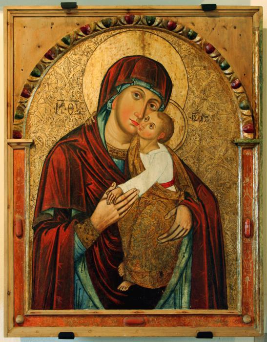 ikona Marijinega oznanjenja