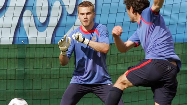 Igor Akinfiejew piłkarz