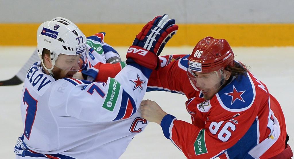 Makarov in una lotta
