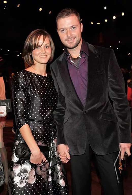 Ilya Noskov se svou ženou