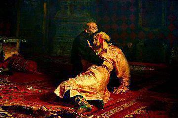 Ilya Repin obrazy s tituly