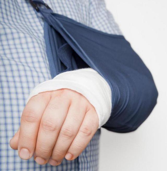 imobilizace končetin pro zlomeniny