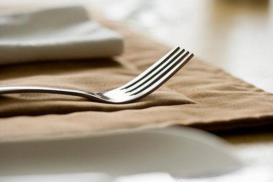 quale mano il coltello in quale forchetta