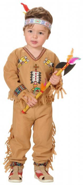 Indický kostým