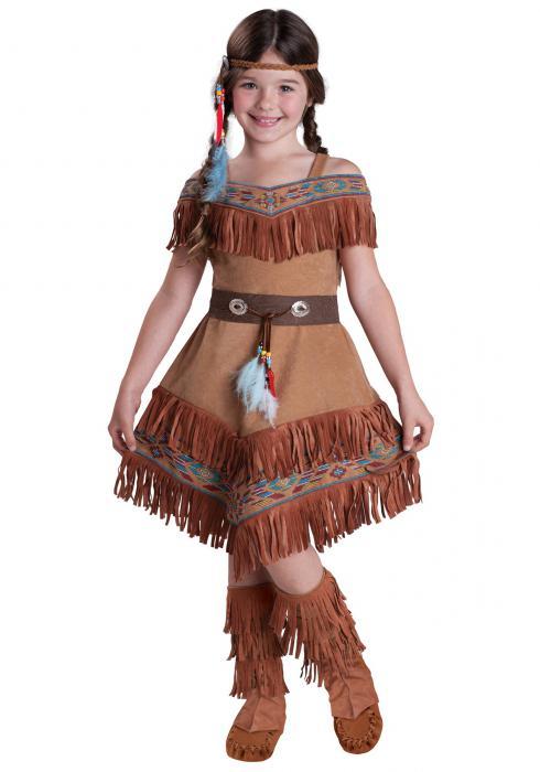 dělej si sám indiánský oblek