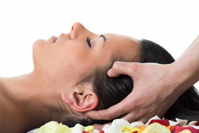 kontraindikací pro masáž hlavy