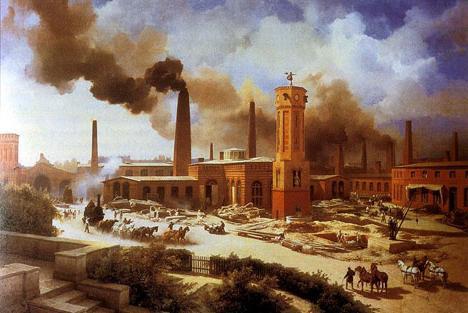 početak industrijske revolucije