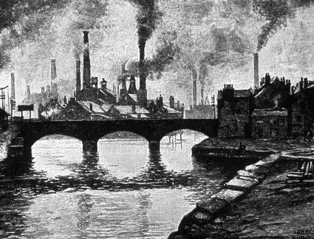 industrijska revolucija je