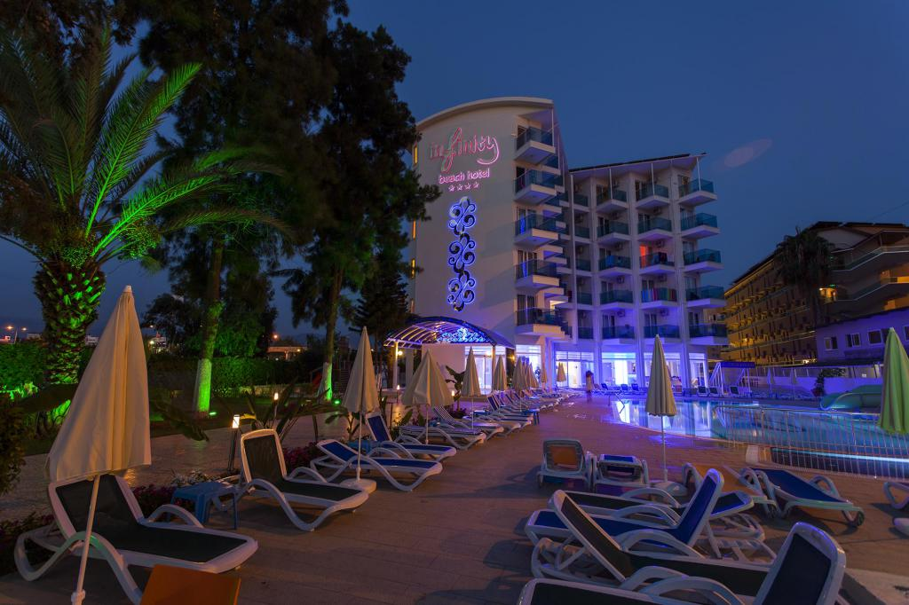 Recensioni di hotel sulla spiaggia di Infinity