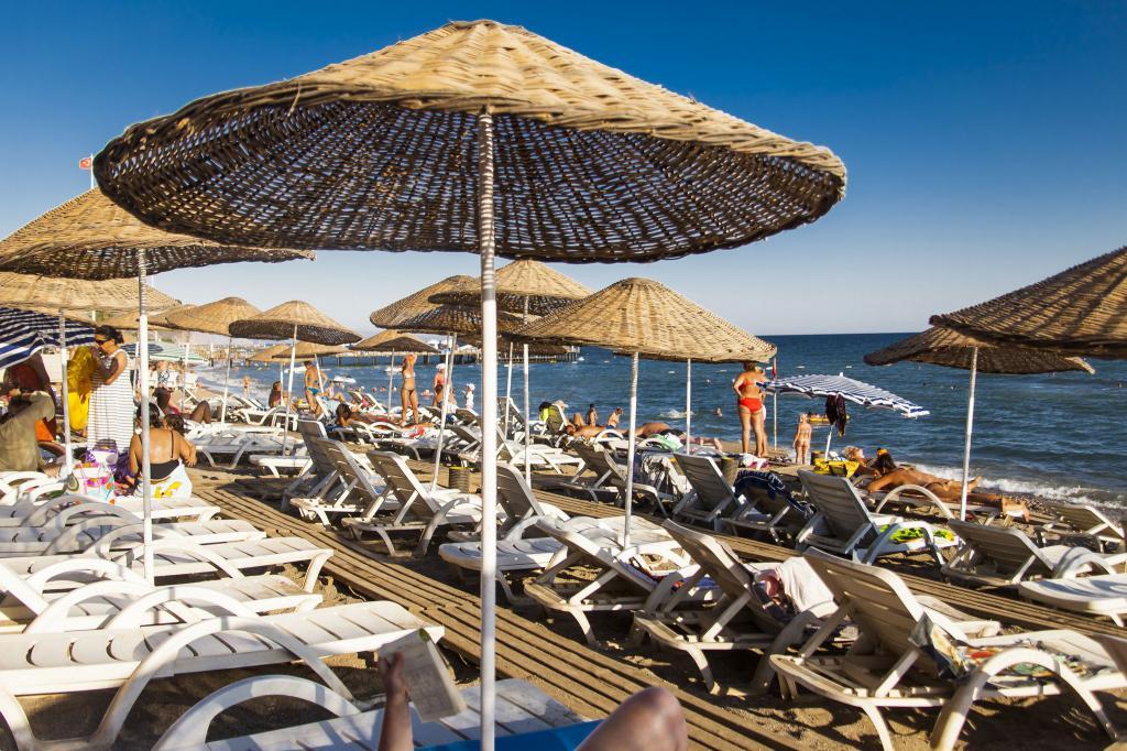 Spiaggia dell'Hotel Infinity Beach
