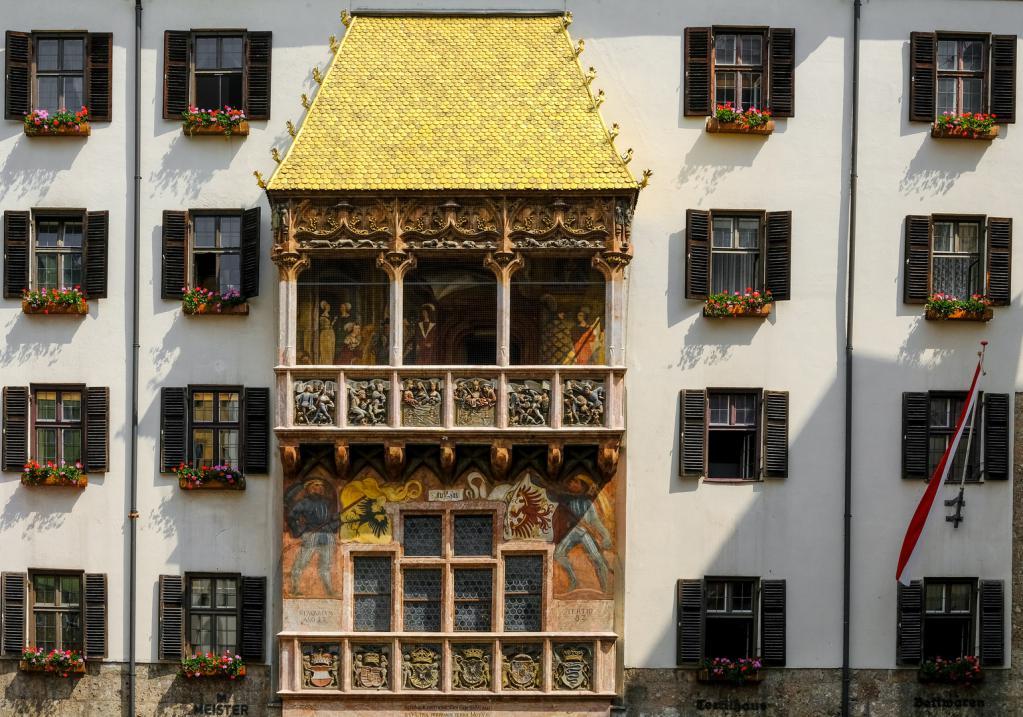 G. Innsbruck Австрия Златен покрив